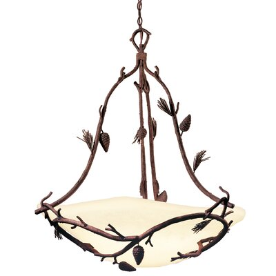 Ponderosa 6-Light Bowl Pendant Finish: Ponderosa