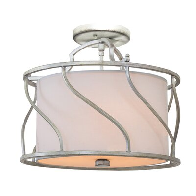 Helix 3-Light Drum Pendant Finish: Hand Rubbed Bronze