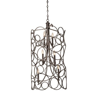 Ashbourne 6-Light Pendant Finish: Heirloom Bronze