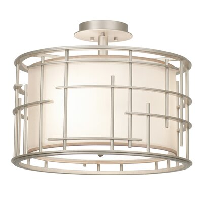 Atelier 3-Light Semi Flush Mount