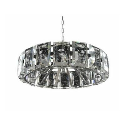 Giada 9-Light Pendant Finish: Silver