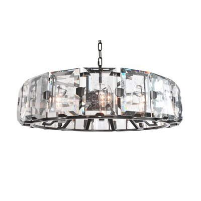 Giada 9-Light Pendant Finish: Dark Brass