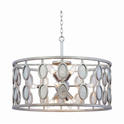 Palomar 12-Light Drum Pendant