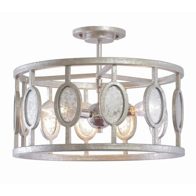 Palomar 3-Light Semi Flush Mount