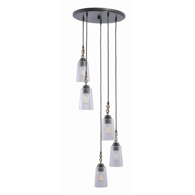 Dillon 5-Light Cascade Pendant