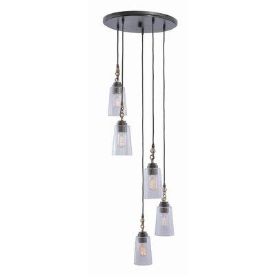 Dillon 5-Light Cascade Pendant