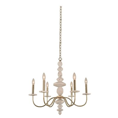 Carrara 6-Light Candle-Style Chandelier