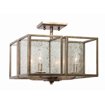 Camilla 4-Light Semi Flush Mount