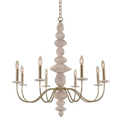 Carrara 8-Light Candle-Style Chandelier