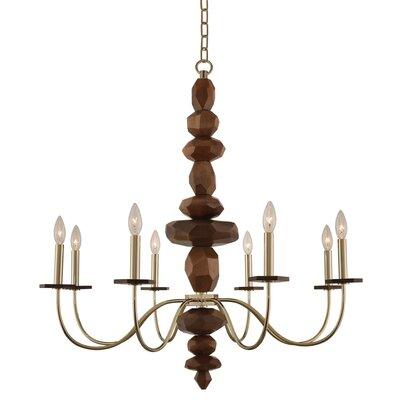 Lassen 8-Light Candle-Style Chandelier
