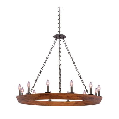 Lansdale 12-Light Candle-Style Chandelier