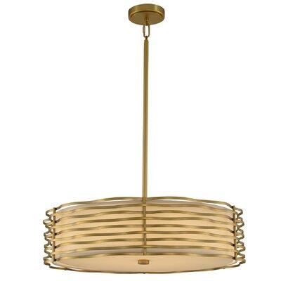 Paloma LED Drum Pendant Size: 12 H x 25 W x 25 D