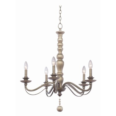 Colony 5-Light Candle-Style Chandelier