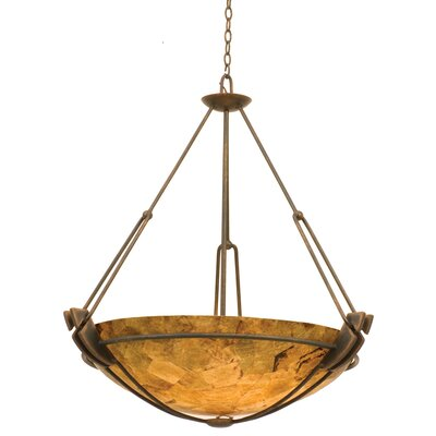 Grande 6-Light Bowl Pendant Finish: Antique Copper