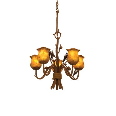 Ponderosa 5-Light Candle-Style Chandelier