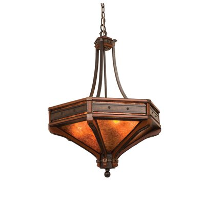 Aspen 6-Light Bowl Pendant Size: 36 H