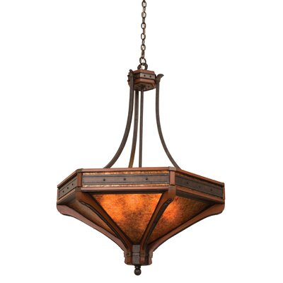 Aspen 6-Light Bowl Pendant Size: 47.25 H