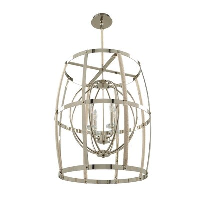 Croley 4-Light Foyer Pendant