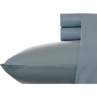 Corinne Microfiber Sheet Set Size: Twin, Color: Storm Cloud