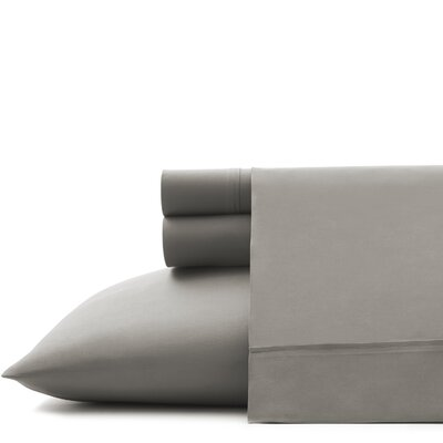 Corinne Microfiber Sheet Set Size: Twin, Color: Granite