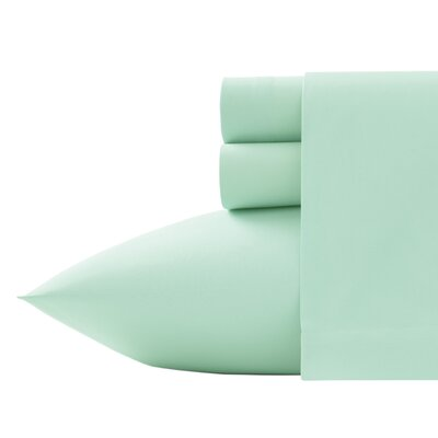 Corinne Microfiber Sheet Set Size: King, Color: Pistachio