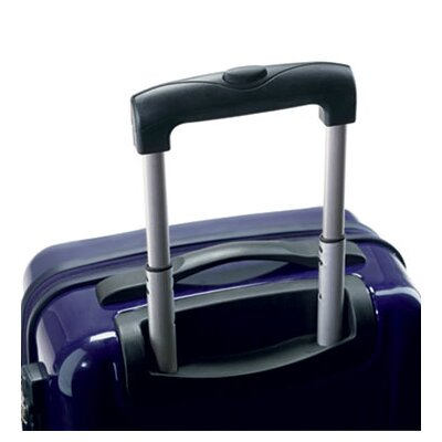Carlton Travel Goods Adventura Polycarbonate Spinner Trolley 3 Piece Luggage Set - Color: Violet at Sears.com