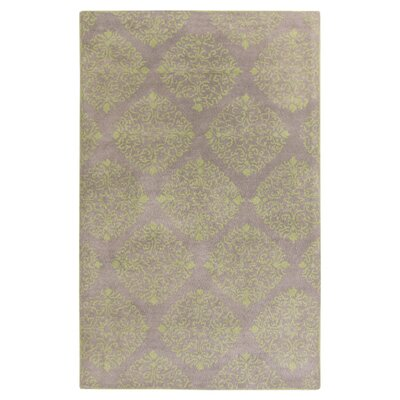 Chapman Lane Gray/Fern Green Area Rug Rug Size: 8 x 11