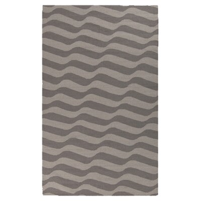 Sheffield Market Dove Gray/Oatmeal Rug Rug Size: Rectangle 8 x 11