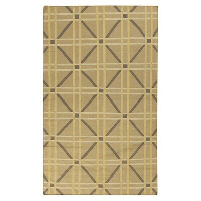 Sheffield Market Soft Yellow Rug Rug Size: 5 x 8