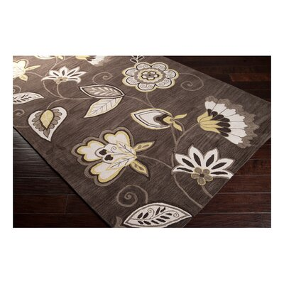 Impressions Espresso Area Rug Rug Size: Rectangle 8 x 106