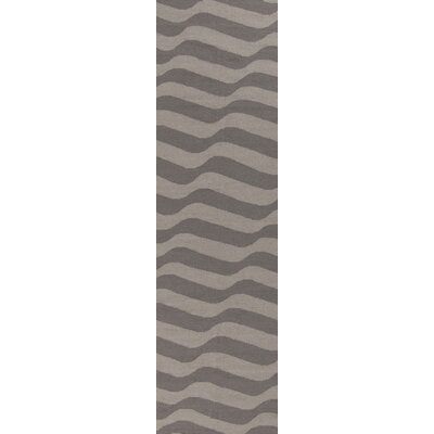Sheffield Market Dove Gray/Oatmeal Rug Rug Size: Runner 26 x 8