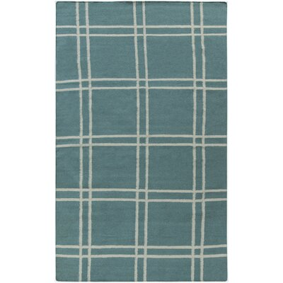 Sheffield Market Teal Green Area Rug Rug Size: 33 x 53