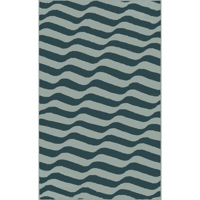 Sheffield Market Blue Area Rug Rug Size: 5 x 8