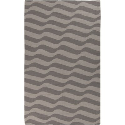 Sheffield Market Dove Gray/Oatmeal Rug Rug Size: Rectangle 5 x 8