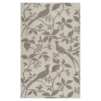 Impressions Ivory Area Rug Rug Size: Rectangle 5 x 76
