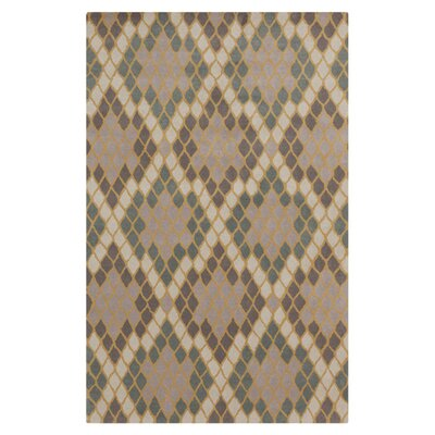Chapman Lane Light Gray Rug Rug Size: 5 x 8