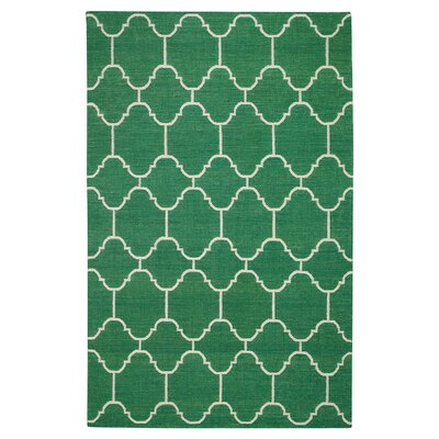 Serpentine Emerald Area Rug Rug Size: Rectangle 3 x 5