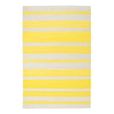 Jagges Stripe Leo Sun Outdoor Area Rug Rug Size: Rectangle 7 x 9