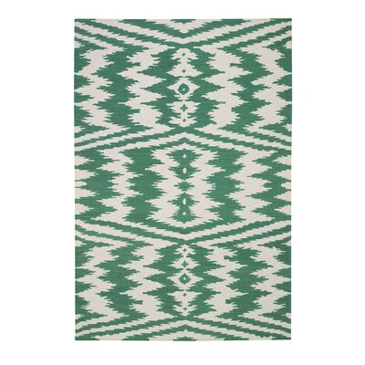 Junction Emerald Outdoor Area Rug Rug Size: 5 x 8
