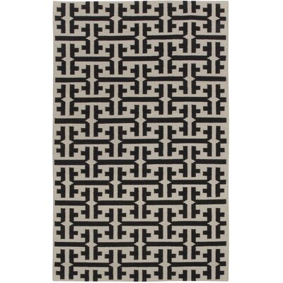 Grecian Deep Grey Geometric Area Rug Rug Size: Rectangle 8 x 11