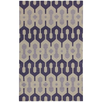 Spain Amethyst/Violet Area Rug Rug Size: Rectangle 3 x 5