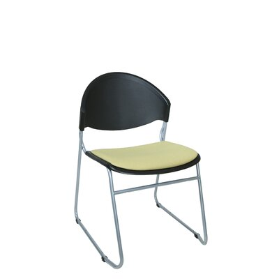 Scoop Guest / Meeting Chair Color: Green Apple 100% Recycled