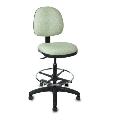 Lift Mid Back Drafting Chair Muscat Champagne Print picture