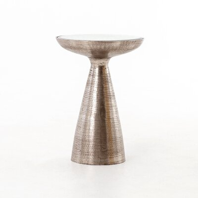 Bevis Pedestal End Table