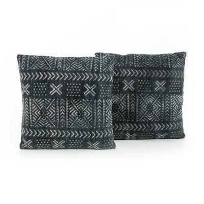 Astin Mud Cloth Print Throw Pillow