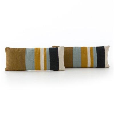 Natalee Multi Stripe Lumbar Pillow