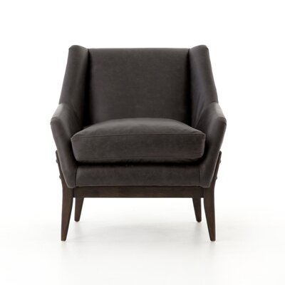 Soila Dottie Leather Club Chair