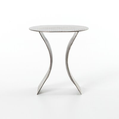 Safiya Iron Etch End Table