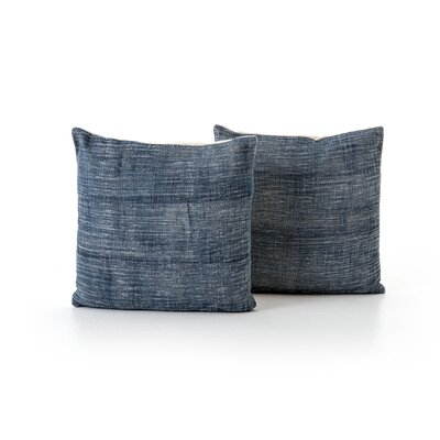 Slyvia Faded Haze Throw Pillow