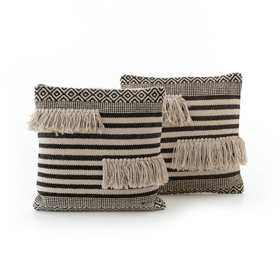Richelieu Split Fringe Throw Pillow